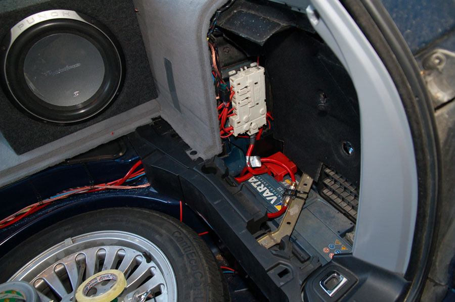 bilbatteri bmw e39